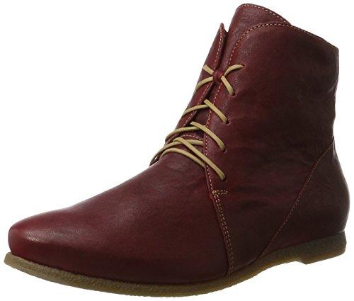 kombi Desert Stivali Donna Boots rosso Shua Rosso 72 Think Cz0xnwfqE5