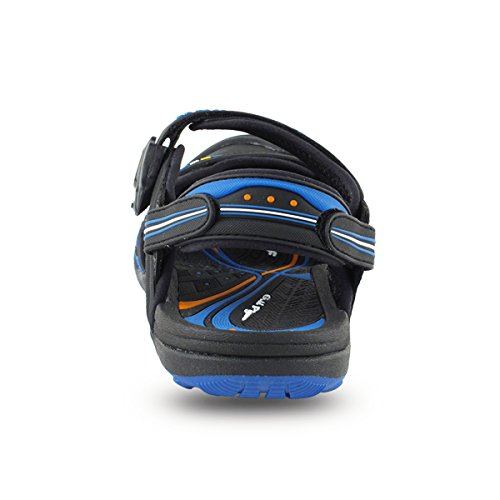 Closure Gold 7668 Lock Women Blue amp; Sports Easy Sandals GP5937 Snap Black for Shoes Water Pigeon Men xTYwqgTUH