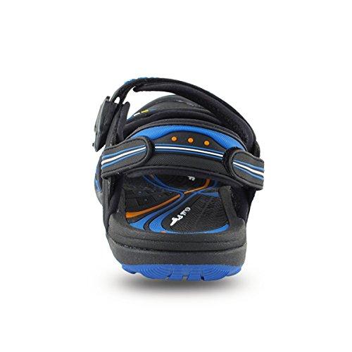 for Shoes Sports GP5937 Pigeon 7668 Blue Lock Easy Gold Sandals Water Closure Snap Women Men Black amp; v5Bq6