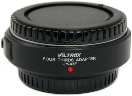 Viltrox - Adaptador de Objetivo 4/3 para cámaras