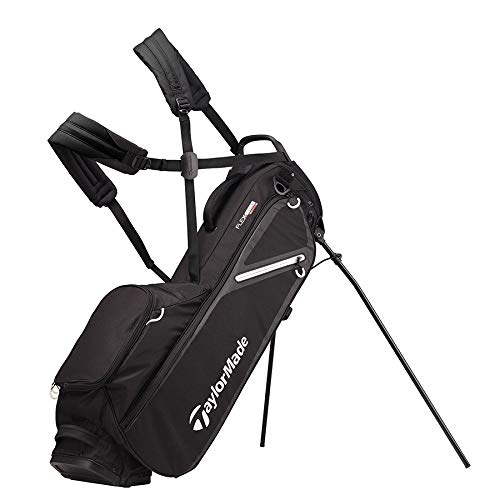 TaylorMade 2019 Flextech Lite Stand Golf Bag, Black V1