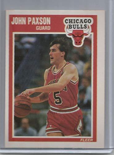 1989-90 Fleer Basketball Card #22 John Paxson Chicago Bulls Official NBA Basketball Cards