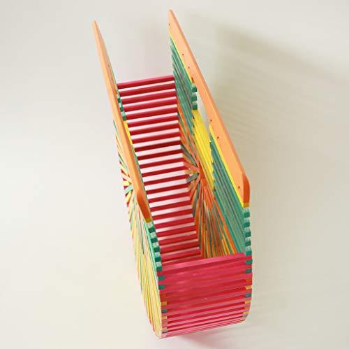 Bamboo Portatile Di GGCL Borsa Bag Rattan Corrispondente Spiaggia E Handmade Colore Donna Da Sacchetto Paglia Di 4BaqRw4T