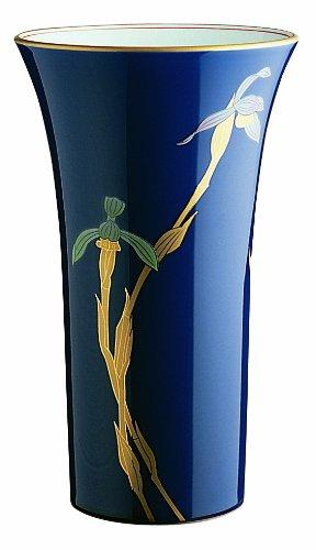香蘭社 ルリ春蘭 花瓶 R389-NQ8 B00H39QTDI 高220mm|タイプ:R389-NQ8 高220mm