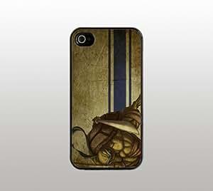 Leonardo Teenage Mutant Ninja Turtle Hard Snap-On Case for iPhone 4 4s - Black