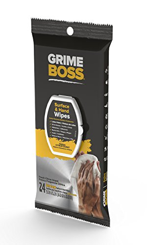 GRIME BOSS Surface Hand Wipes Heavy Duty Wipes Hand Wipes Cleaning Surfaces Cleaning Tools Cleaning Equipment Cleaning Gear Wipes For DIY Projects Painting Gardening Automotive Camping