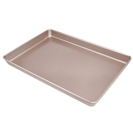 Amazon.com: softeen 13 Inch Non Stick Baking Tray, Rimmed ...