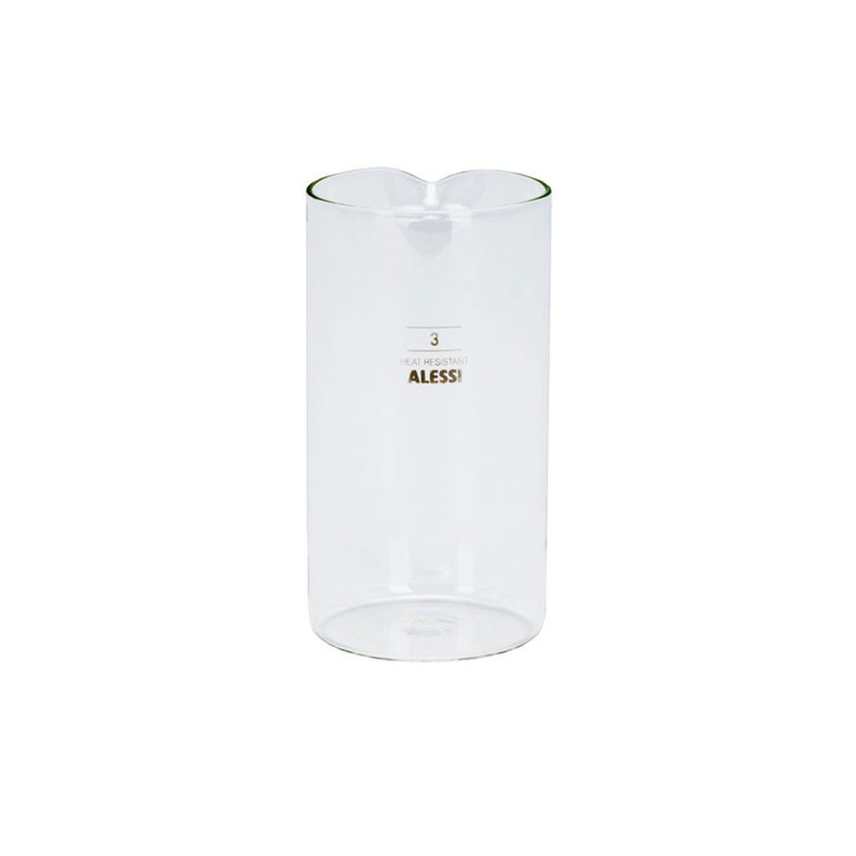 Alessi Glass Beaker for 3 Cup Coffee Maker 35740