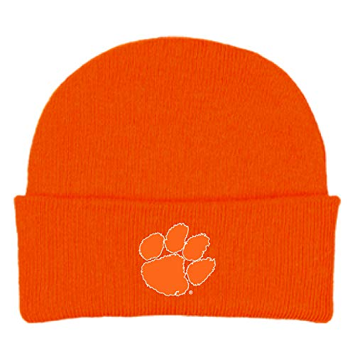 Clemson Tigers NCAA Newborn Knit Hat Cap Orange