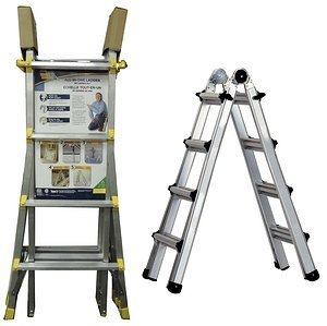 WORLDS GREATEST LADDER 24 LADDERS IN 1 TYPE 2 225LB CAPACITY