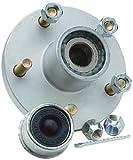 """Superlube Hub Kit 5 Stud 1-1/16"""" Strait Bearing"""