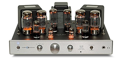 Cary Audio SLI-80 Integrated Tube Amplifer (Silver) Cary Audio