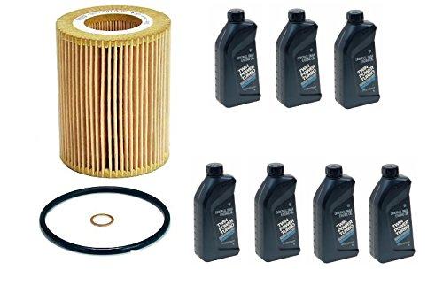 7 Liters Genuine 5w30 Engine Motor Oil Set + Mann Filter kit BMW 325Ci 330Ci X3 X5 525i 530i