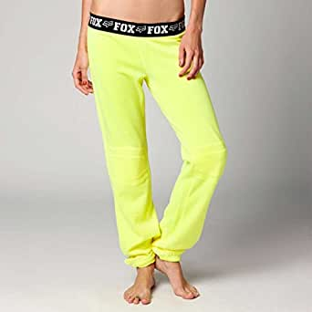 Fox Racing Girls Fast Lane Pants, Day Glo Yellow, Large