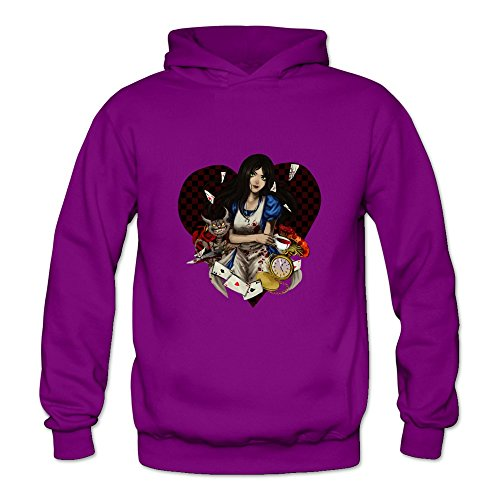 TBTJ Men's Alice Madness Returns Hooded Pullover Sweatshirt XX-Large