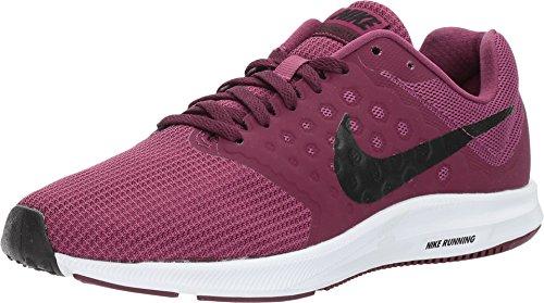 Nike Womens WMNS Downshifter 7 Tea Berry Black Bordeaux White Size 5.5