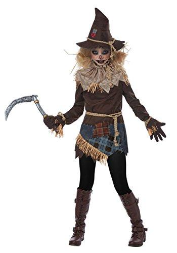 Creepy Girls Halloween Costumes (Girls Creepy Scarecrow Costume)
