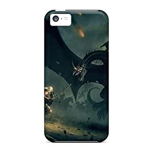 Premium Dragon Slayer Heavy-duty Protection Cases For Iphone 5c Black Friday