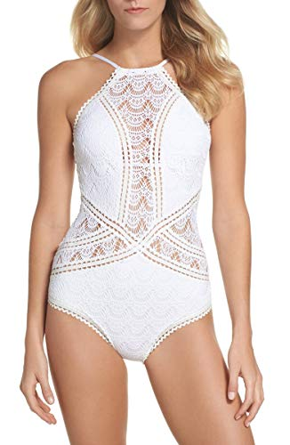 Becca-by-Rebecca-Virtue-Womens-Lace-Rickrack-High-Neck-One-Piece-Swimsuit-Swimsuit