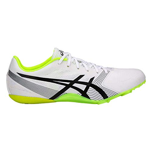 ASICS Men's Hypersprint¿ 6 White/Black/Safe Yellow 11 D US