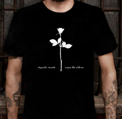 Depeche Mode Enjoy the Silence Cotton T-Shirt Tee For Mens