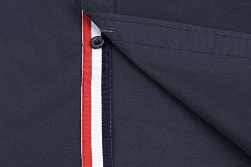 Detailorpin Men's Business Dress Shirt Slim Fit Contrast Button Down Long Sleeve Shirt by Detailorpin (Image #6)