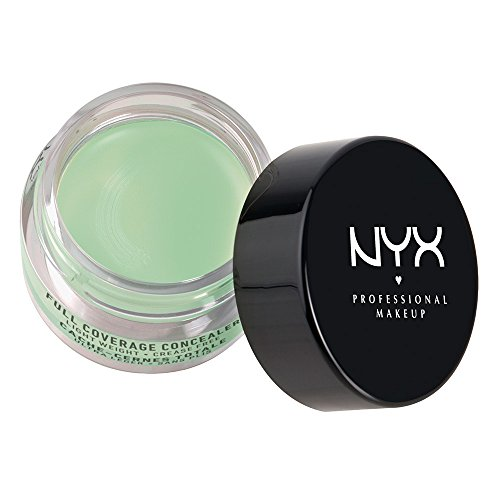 Green Concealer (NYX Cosmetics Concealer Jar, Green, 0.21-Ounce)