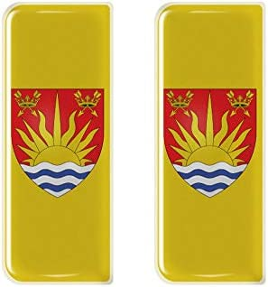 Suffolk County Flag Number Plate Decals