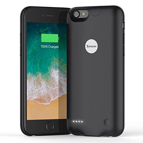 2800mah External Battery Case iPhone 7 (Black) - 3