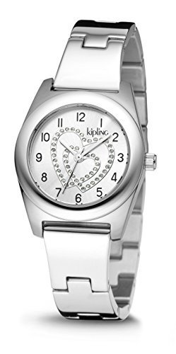 Price comparison product image Kipling Girls Stainless steel Quartz Watch