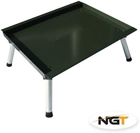 NGT Gro/ß Karpfenangeln Ausr/üstung Gr/ün Verstellbar Stabilisator Lip Biwak-Tisch