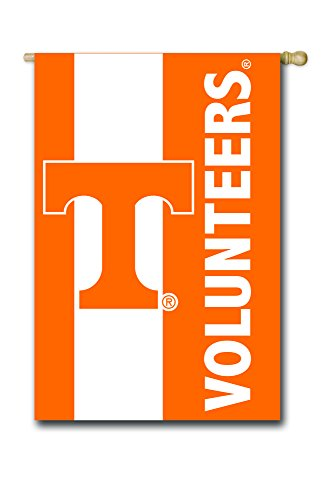 Team Sports (Team Sports America University of Tennessee Outdoor Safe Double-Sided Embroidered Logo Applique House Flag, 29 x 44 inches)