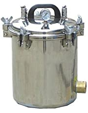 12L Liter Portable Autoclave Steam Sterilizer for Medical Dental Tattoo Professionals Free Ship via DHL