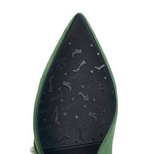 Green Sandales Compensées SDC05845 Femme AdeeSu fwB5qIOnW