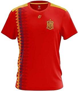adidas David Villa #7 España Camiseta 1ra Copa Mundial (S): Amazon.es: Deportes y aire libre