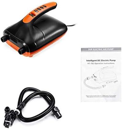 ZT-TTHG SUP&パドルボードIハイプレッシャーポータブル12Vデジタル用20PSエアーポンプLED Displa