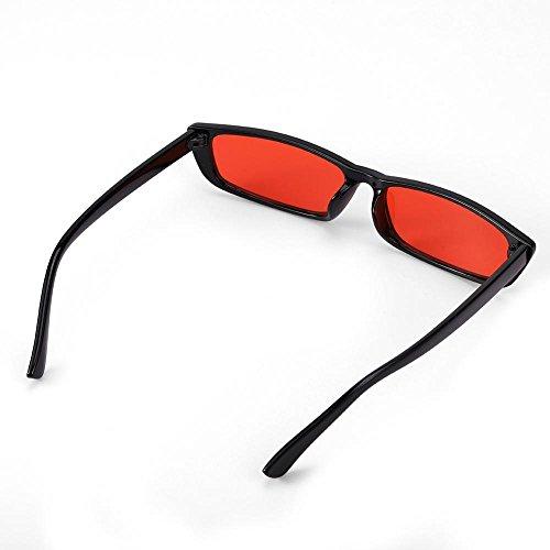 Rojo para FTVOGUE de Hombre Sol Gafas n7xtqOX