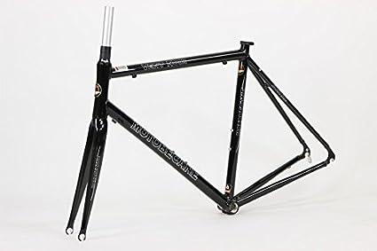 Amazon.com : Motobecane Vent Noir Kinesis Aluminum Road Bike Frame ...
