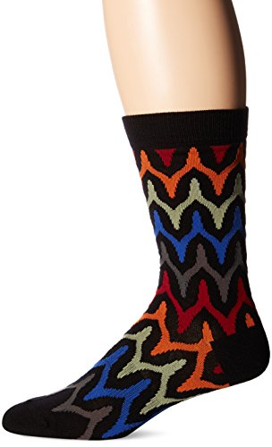 k-bell-socks-mens-crew-black-wishbone-10-13