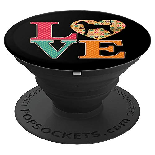 Treeing Walker Coonhound Gifts Love Coonhound Dogs - PopSockets Grip and Stand for Phones and Tablets