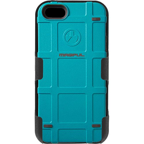 Magpul Industries iPhone 5/5s and iPhone SE MAG454-TEA Bump Case & EGO Tactical Swivel Belt Clip Holster Combo Kit (Teal) (Magpul Industries Iphone 5 5s Bump Case)