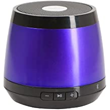 JAM Classic Wireless Bluetooth Speaker, Small Portable Speaker, Works with iPhone, Android, Tablets, Notebooks, Desktops, iPad, iPod, Rechargeable Lithium-ion Battery, Great Sound, HX-P230PU Purple