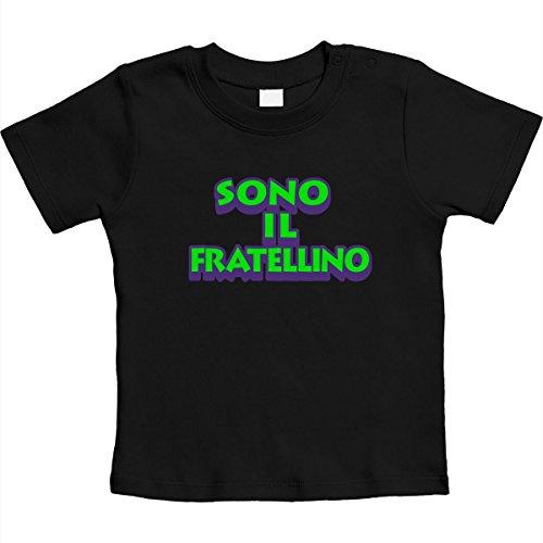 Il Maglietta Fratello Neonati Nero Sono Idea Fratellino Per Regalo Unisex Neonato Shirtgeil 5g47qg