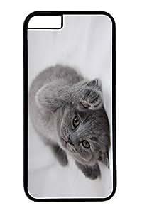 iPhone 6 Plus Case, Customized Slim Protective Hard PC Black Case Cover for Apple iPhone 6 Plus(5.5 inch)- Hi