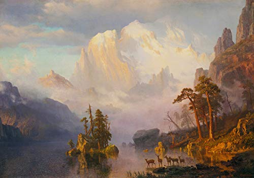 Albert Bierstadt Rocky Mountains 30