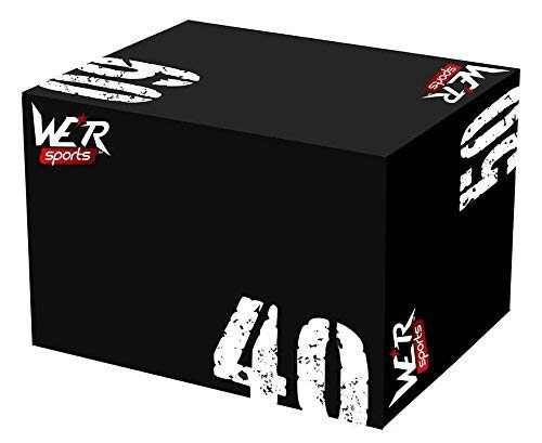 We R Sports® Plyometric Box 3-In-1 Crossfit Strength Training Workout Crossfit