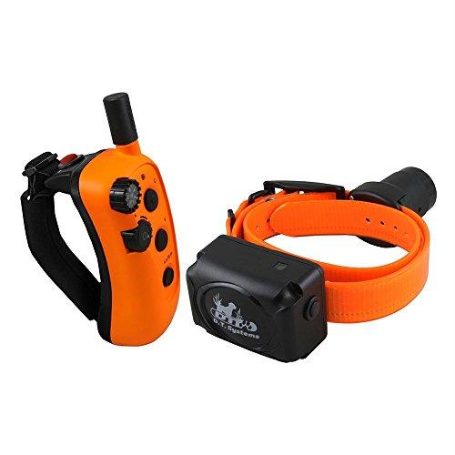 - D.T. Systems R.A.P.T. 1450 Remote Dog Trainer, Orange/Black