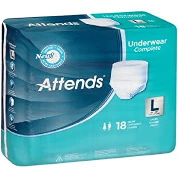 MCK23523101 - Adult Absorbent Underwear Attends Pull On Large Disposable Heavy Absorbency