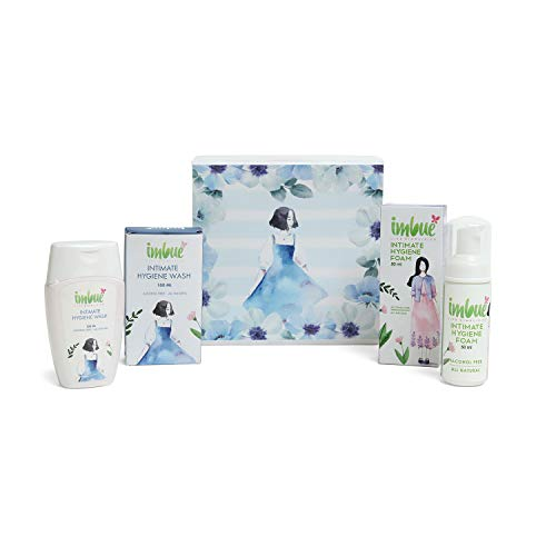 Imbue Natural Intimate Hygiene Foam & Wash Gift Box Combo