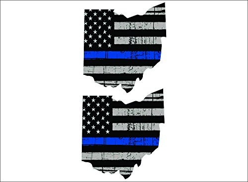 Thin Blue Line Ohio / PAIR / 5